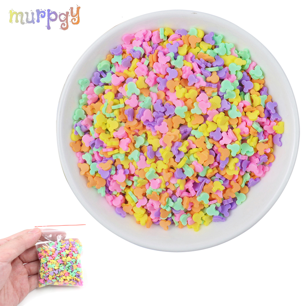 20g Fake Sprinkles Charms For Lizun Fluffy Slime Addition For Slime Supplies Plasticine DIY Putty Toys Accessories Antistress