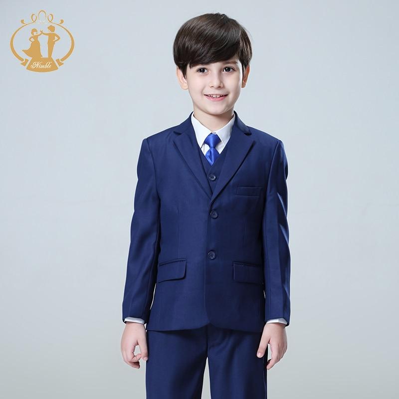 Oğlanlar Forml kostyumu Enfant Garcon Mariage Oğlanlar Toylar - Uşaq geyimləri - Fotoqrafiya 6