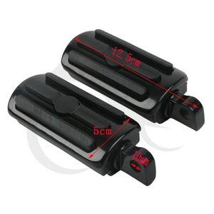 Image 2 - TCMT Evrensel Motosiklet 10mm Otoyol Ayak Kazıklar Footpeg Footrests Için Harley Softail Touring Road King Sportster 1100 Dyna Yeni