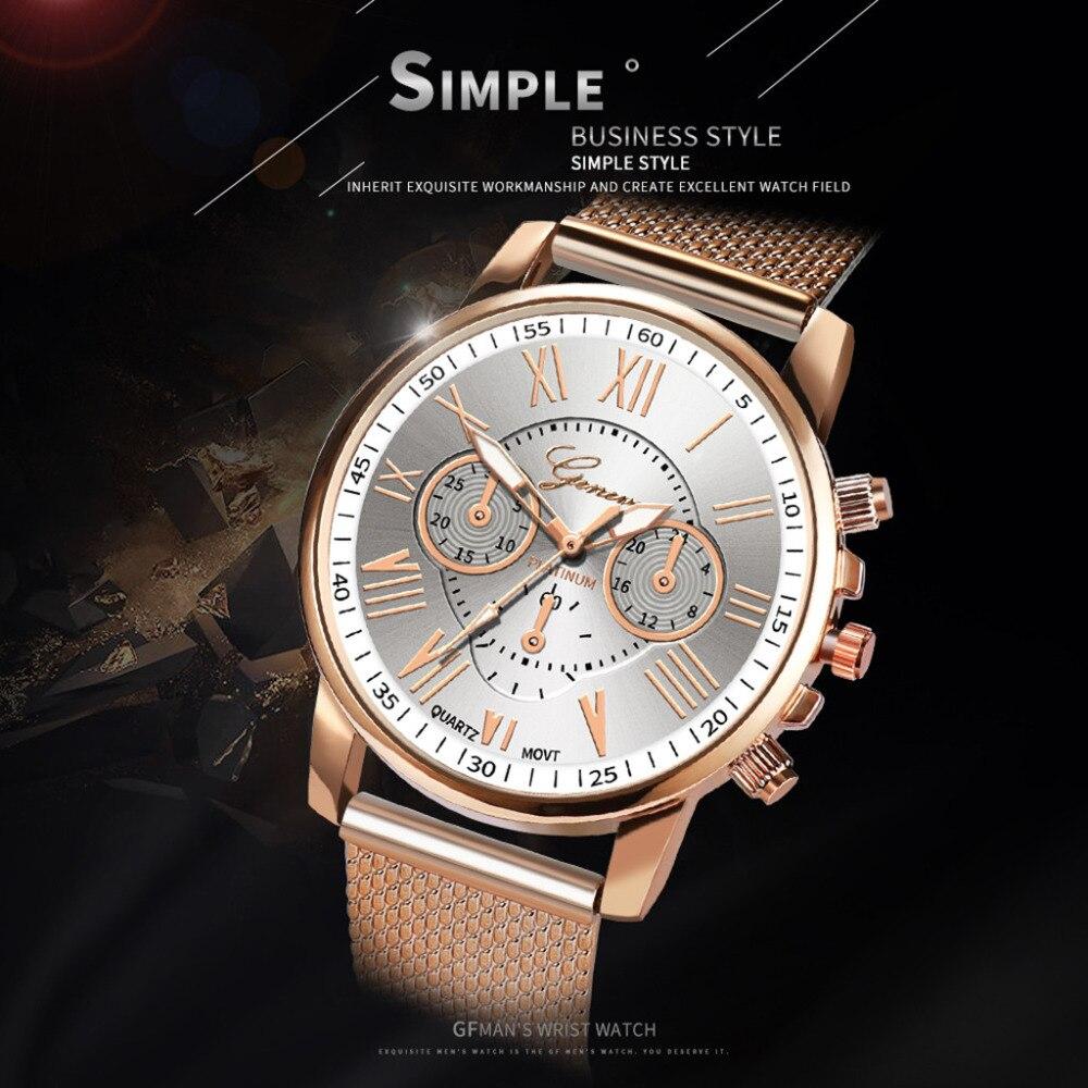 Women Stylish Casual Luxury Quartz Sport Military Stainless Steel Dial Band Wrist Watch Wrist Watch Relogio Feminino Dropship