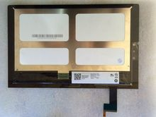 Original WiFi 10.1 pulgadas para Lenovo Tablet Yoga 2 1050 completo libre kit de cristal del digitizador del LCD pantalla de visualización Mcf-101-1647-01-v4