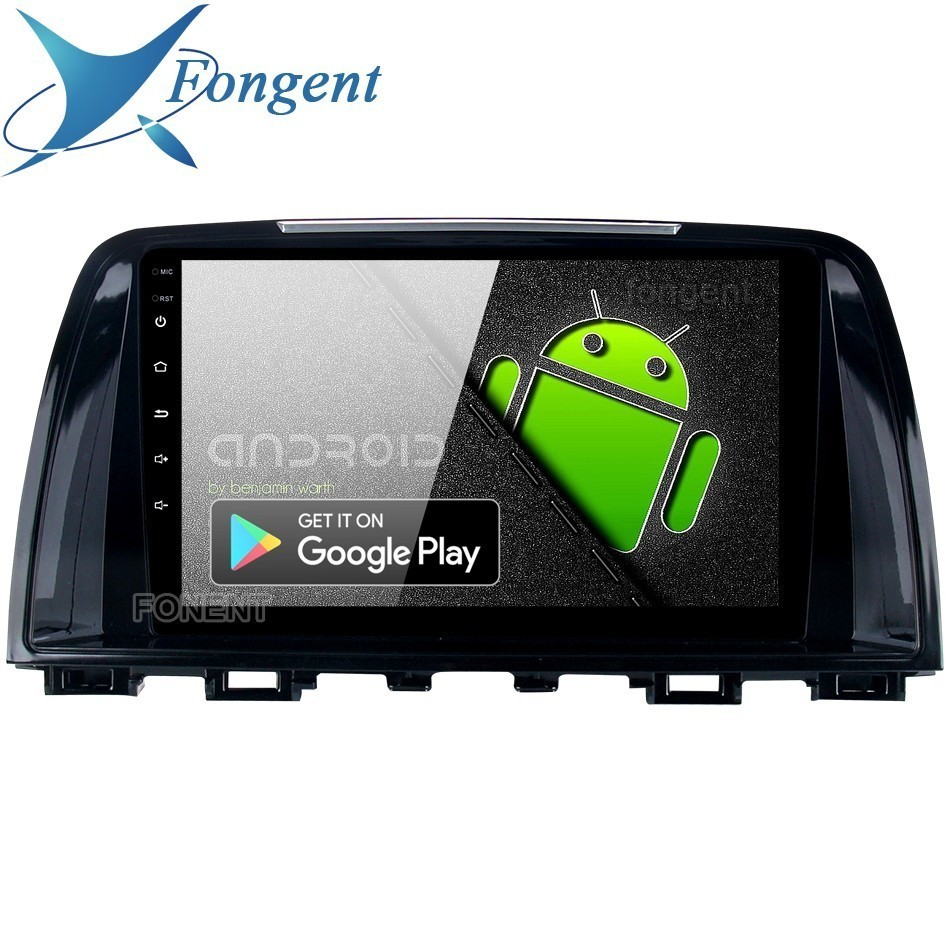 Fongent 9 Car 1 Din Radio GPS Android 9.0 for Mazda 6 Atenza 2013 2014 Navigator Bluetooth DSP 4GB RAM Car Multimedia Player image