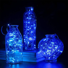 LED Starry String Lights Fairy Micro LEDs Copper Wire Battery Decoration Warm Lamp Holiday Wedding Light Holiday Lighting L4 cheap Mnycxen cartoon Beads