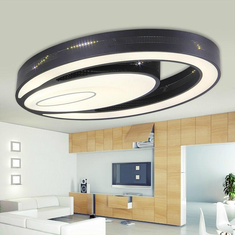 Modern eye shape Iron led ceiling lights fixture home deco living room double Ellipse Acrylic LED ceiling lamp 2 ounce ellipse shape wine pot