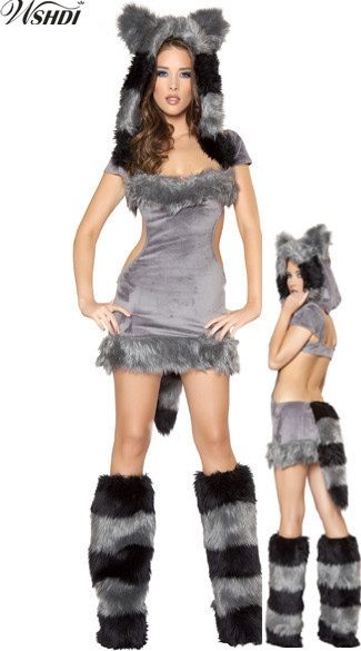 Compare Prices on Wolf Halloween Costumes for Girls- Online ...