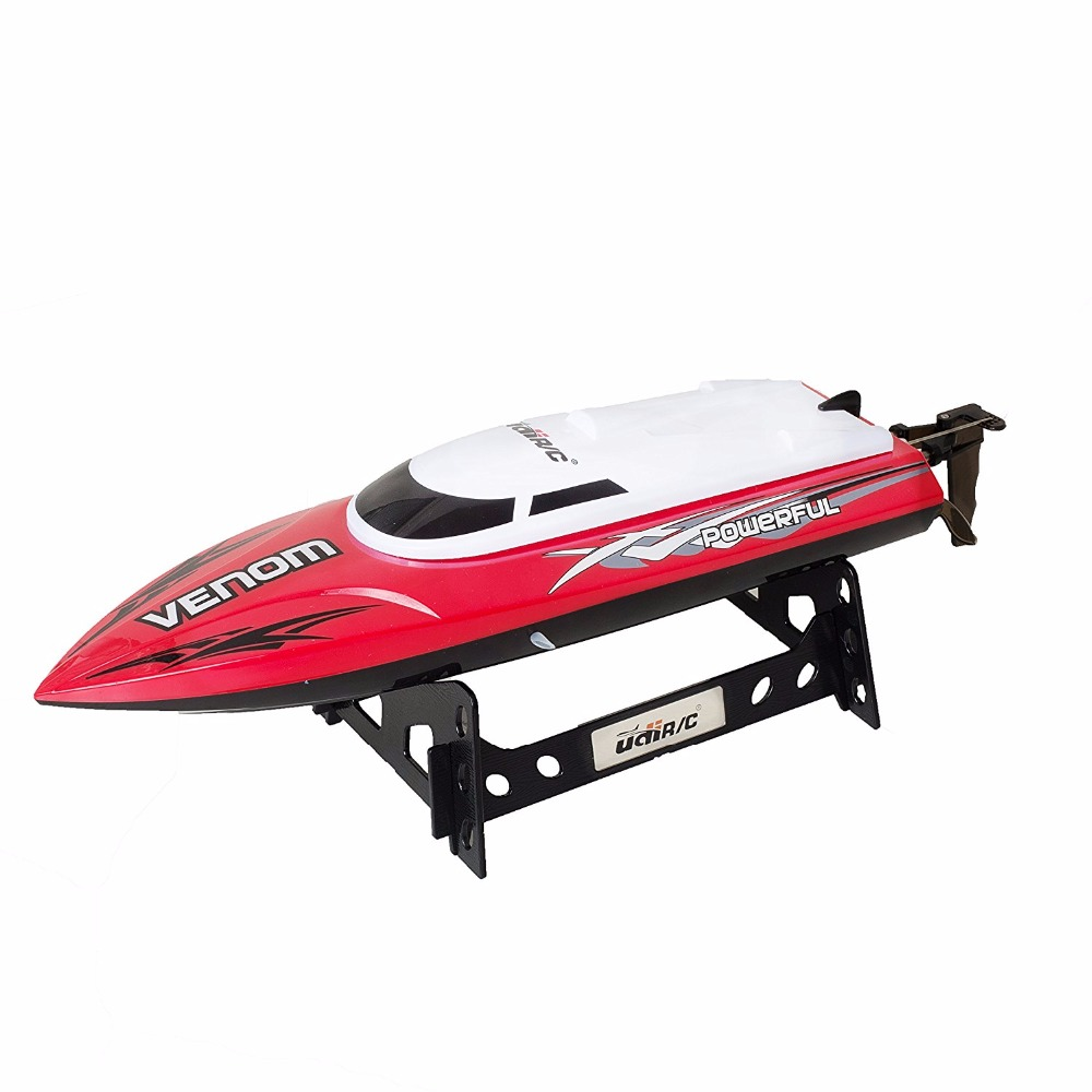 UDI001 Remote Control Boat for Pools, Lakes and Outdoor Adventure - 2.4GHz Cooling High Speed Electric RC Boat Toy Best Gifts aluminum water cool flange fits 26 29cc qj zenoah rcmk cy gas engine for rc boat