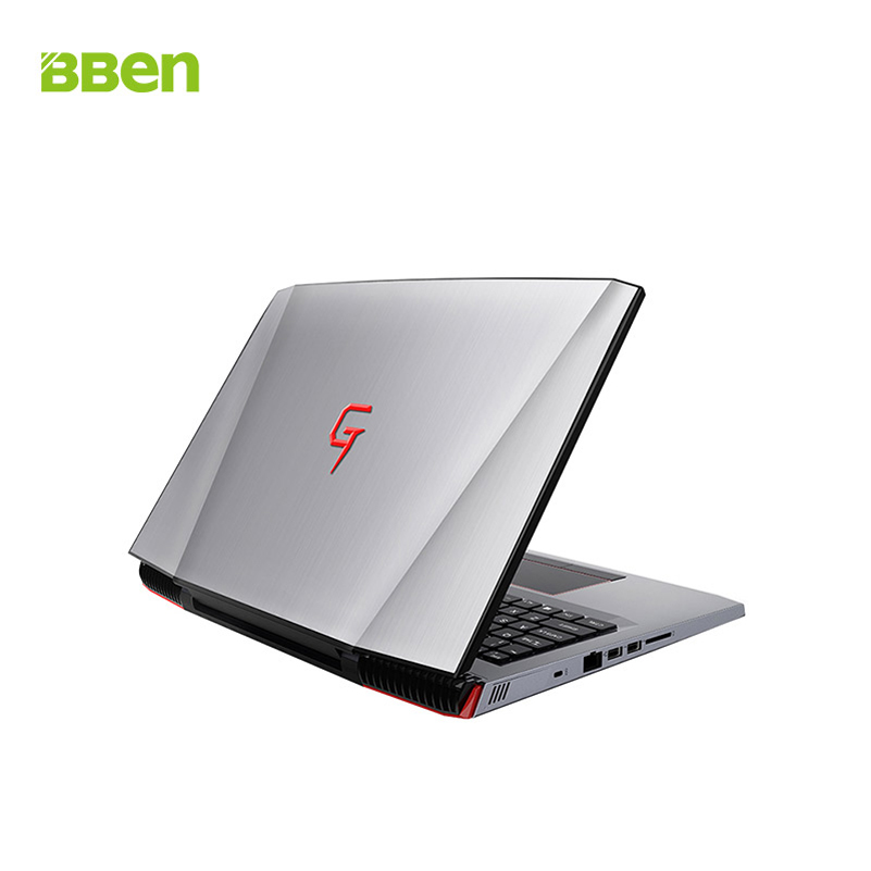 BBEN G16 laptop for gaming 15 6 inch fast running 32GBRAM 256GB SSD 2TB HDD BBEN G16 laptop for gaming 15.6 inch fast running 32GBRAM+256GB SSD+2TB HDD 1920x1080 FHD wifi IPS screen i7 7700HQ notebook