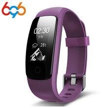 Microwear ID107 Plus HR Banda Inteligente Pulseira Bluetooth 4.0 Resposta Chamada Inteligente da Frequência Cardíaca Monitor de Sono multi sports 5 exibe