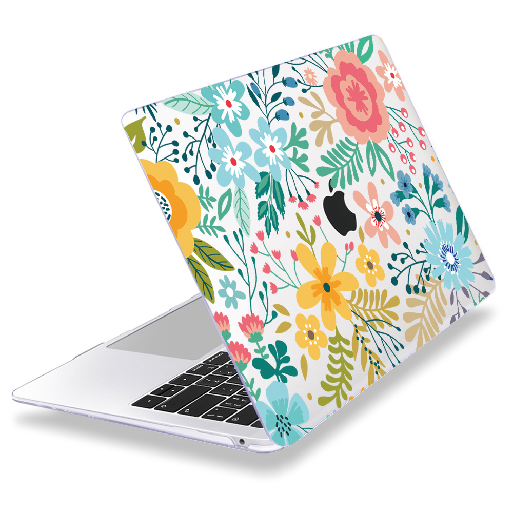 Redlai Colorful Flowers Case for MacBook 32