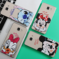 Minnie mickey case para coque iphone 7 6 6 s 5 5S 5c se para samsung galaxy j3 j5 a3 a5 2016 2015 2017 grand prime s5 s6 s7 borde