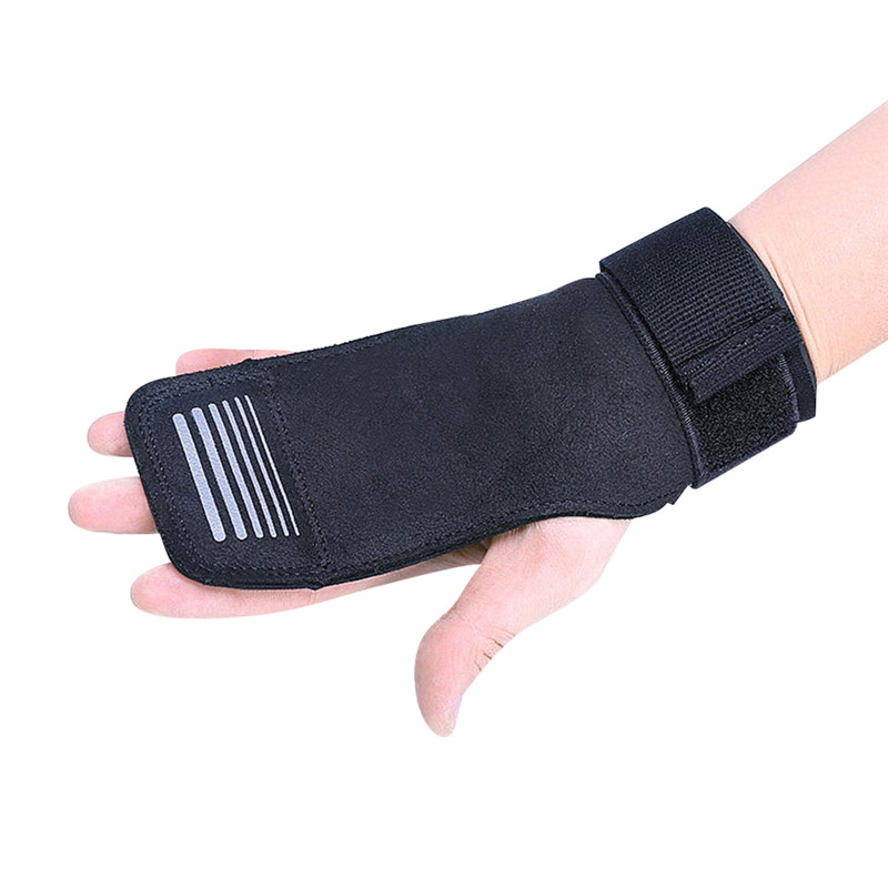 Gym Training Wrist Protector Power lifting Gymnastics Grip Hand Guard Sports Equipment with Anti Slip Gymnastic Strap And Hook