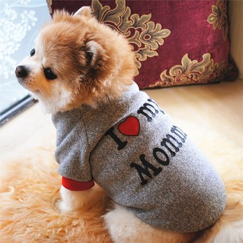 Dog Short Sleeve Coat Pet Autumn Winter Warm Costume Sweater For Small Medium Dogs Pets Outdoor Casual Top Clothes 2