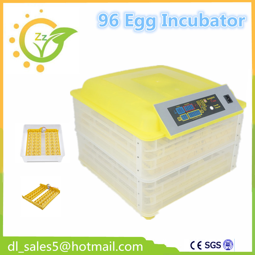 цена на Quail Poultry Eggs Fully Automatic Egg Incubator Mini  factory Brooder Hatchery Machine For Hatching 96  Chicken Duck