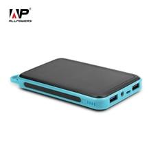 Allpowers 15000 мАч Солнечный Зарядное устройство Dual USB Солнечный телефон Зарядное устройство для iphone Sumsung HTC Sony Huawei Nokia Motorola iPad