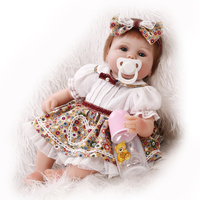 NPK Realistic 40 Cm Baby Reborn Dolls Silicone Touch Soft 16 Inch Baby Alive Newborn Doll