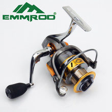 Hot Super EMMROD Technology Fishing Reel 12BB + 1 Bearing Balls 3000-7000 Series Spinning Reel Boat Rock Fishing Wheel