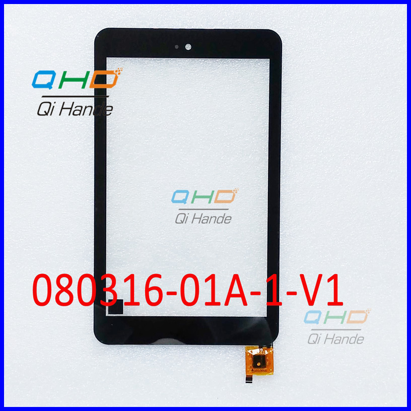 New replacement Capacitive touch screen touch panel digitizer sensor For 8'' inch Tablet 080316-01A-1-V1 Free Shipping new replacement capacitive touch screen touch panel digitizer sensor for 8 inch tablet pb80jg2030 free shipping