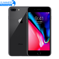 Оригинальный разблокирована Apple iPhone 8 Plus LTE мобильный телефон 256 г/64G ROM 3 ГБ оперативная память гекса Core 12.0MP смартфон с отпечатками пальцев iOS 5