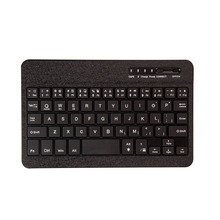 Wireless Bluetooth 7 Colors Backlit Aluminum Alloy Keyboard Removable with Case Cover for iPad mini 1