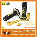 MX Dirt Pit bike Cross Pro Taper Empuñadura Grips + Aluminio oro Palanca de cambios + Combustible Gas Cap Vent Pit Pro CRF50 Envío gratis