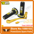 MX Dirt Pit bike Cross Pro Taper Handle Grip Grips + Aluminum Gold Gear Lever + Fuel Gas Cap Vent   Pit Pro CRF50  Free Shipping