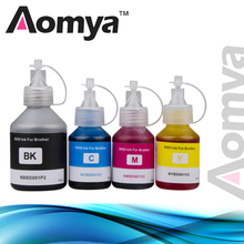 цена на 4PC Specialize Dye Ink Refill ink Kit For Brother Ink tank system Inkjet Printer DCP-T300 DCP T300 500W 700W MFC-T800W MFC T800W