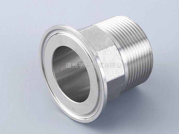 Tri-clamp X Male adapter 1.5'' tri clamp X 11/4 BSP