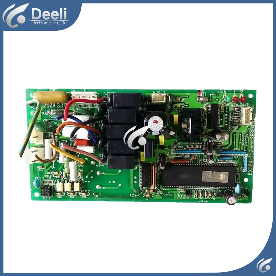 95% new good working for air conditioning board 2PB24842-2 EX304-1-2 circuit board 95% new for haier refrigerator computer board circuit board bcd 198k 0064000619 driver board good working
