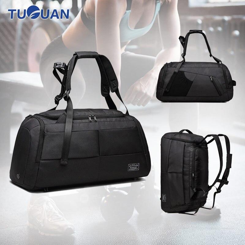 865a59915587 Универсальный сумка-рюкзак Терилен сумка для тренажерного зала фитнеса обувь  для хранения Спорт Тренировка Йоги