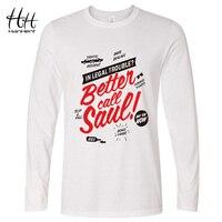 HanHent Fashion Better Call Saul Breaking Bad Saul Good Man T Shirt Heisenberg Long Sleeve O