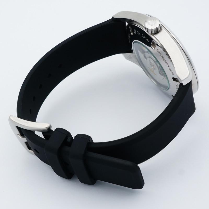 MAIKES 22mm blødt, behageligt silikone-armbånd i mænd i høj - Tilbehør til ure - Foto 4