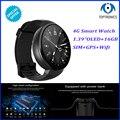 Оригинальные Смарт-часы 4G MTK6737 DDR3 1 ГБ EMMC 16 Гб 580 мАч Bluetooth SIM WIFI телефон GPS монитор сердечного ритма носимые устройства