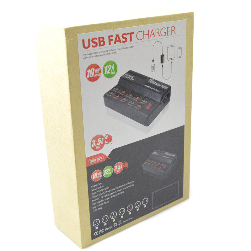 10 ports usb charger