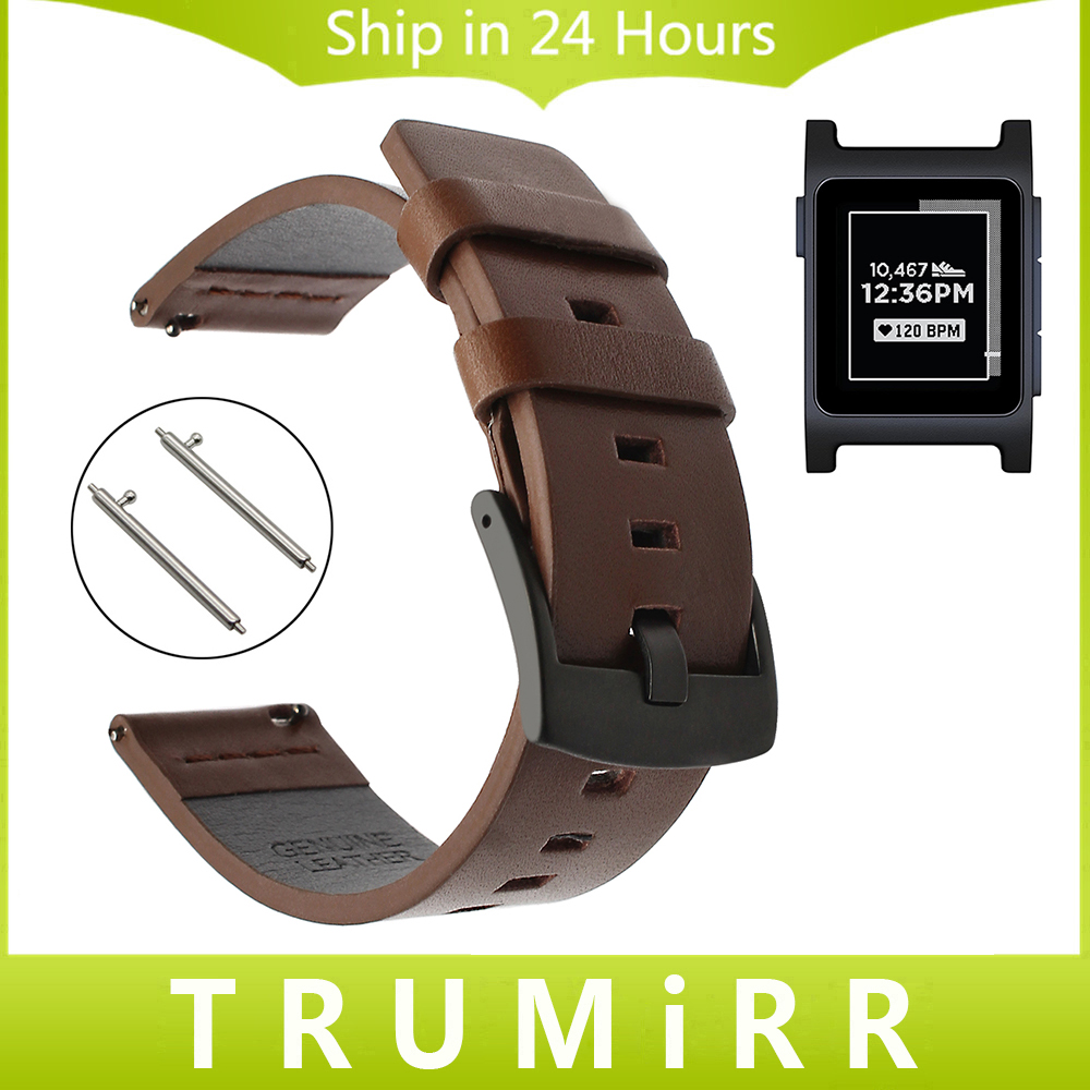 Italian Oily Leather Watchband Quick Release for Pebble 2 / 2 SE Watch Band Stainless Steel Buckle Strap Wrist Belt Bracelet 18mm 20mm 22mm quick release watch band butterfly buckle strap for tissot t035 prc 200 t055 t097 genuine leather wrist bracelet