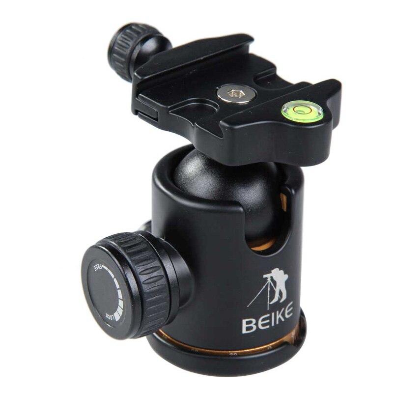 360 Градусов Поворот BK-03A Штатив Камеры Шаровой Головкой с Quick Release Plate OD # S