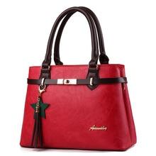 Luxus új Premium PU puha bőr válltáskák női táskák Designer táska Híres márka Fashion Woman Bag