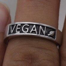 Jewelry Vegan Ring Wedding Band