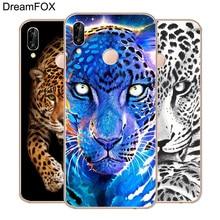 DREAMFOX M114 Leopard Art Soft TPU Silicone Case Cover For Huawei Honor 6A 6C 6X 7A 7C 7S 7X 8 Lite Pro