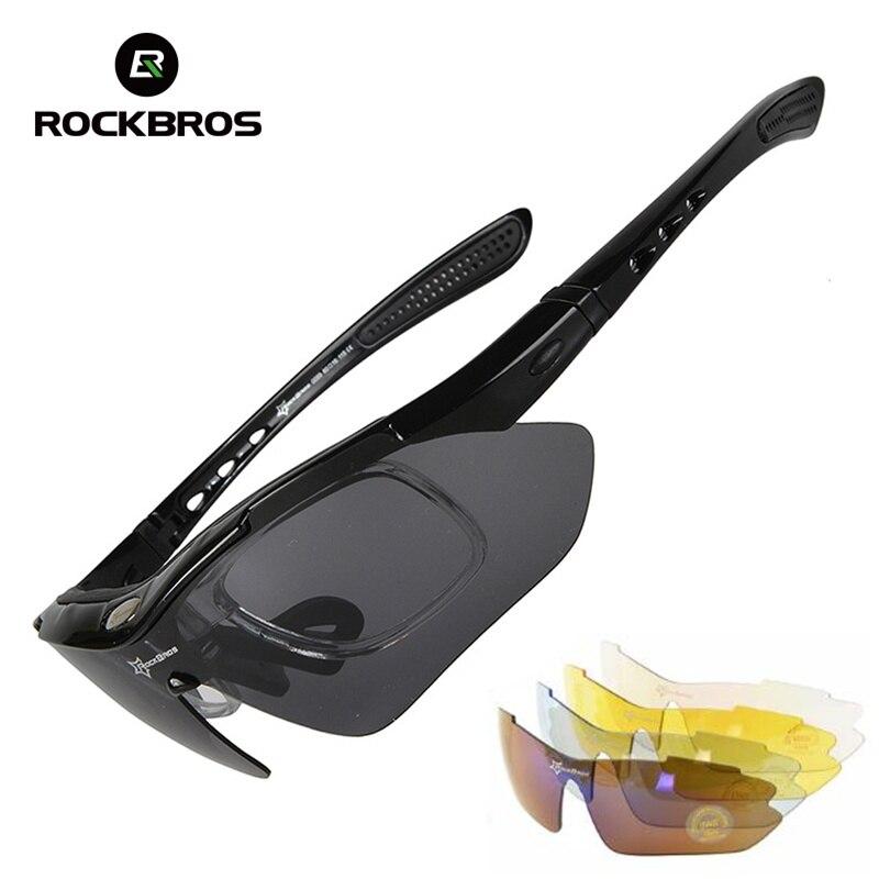 4e7e923309 Detalle Comentarios Preguntas sobre ROCKBROS los polarizado senderismo  gafas de sol deportivas gafas miopía bicicleta ciclismo gafas de montar  UV400 ...