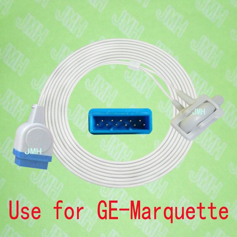 Compatible with GE Marquette tram 250 Pulse Oximeter monitor , Neonate silicone wrap spo2 sensor.11PIN.