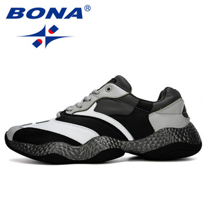Image 4 - BONA 2019 New Adult Men Sneakers Spring Autumn Breathable Krasovki Shoes Trendy Casual Shoes Male Tenis Masculino Man Footwear