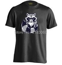 Raccoon Mens & Womens Summer Cotton Casual T Shirt