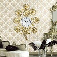 Clock wall clock table mute clock modern quartz clock fashion pocket watch