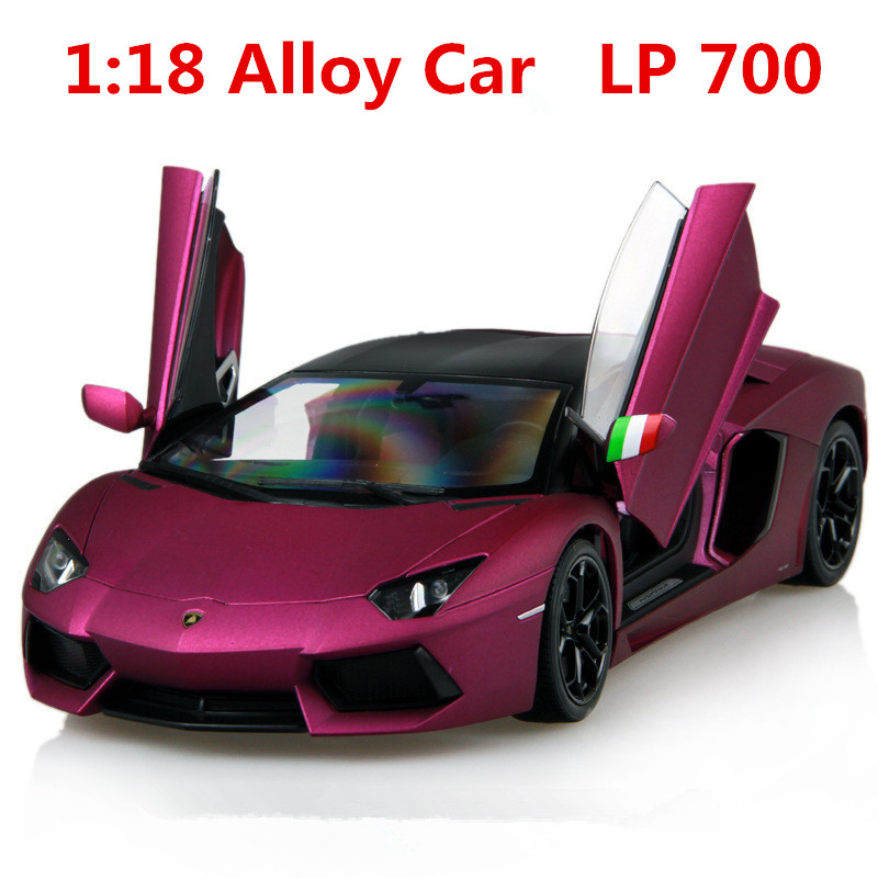 ФОТО 1:18 alloy car,supercar lp700 high simulation car model, metal diecasts,coasting, the children