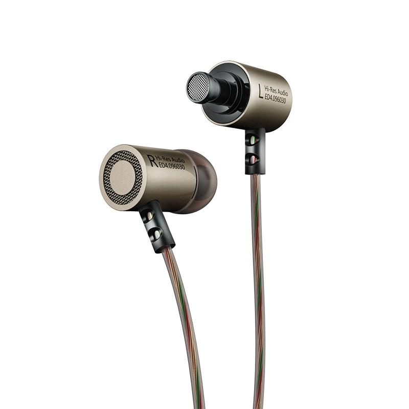 Original KZ ED4 Estéreo Bajo HiFi Smartphone Auricular Sluchawki - Audio y video portátil - foto 4