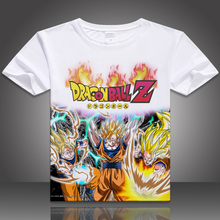 Dragon Ball Z T shirt Dragonball Anime Super Saiyan Breathable Cosplay Costume Cartoon Summer Tshirt Men/Women Tops Tee shirt