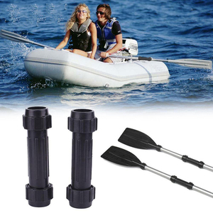 New Black Rubber Boat Paddle C