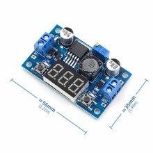 LM2596 Buck Step Down Power Converter Module LED Digital Voltmeter Display Adjustable Board DC-DC 2A Short Circuit Protection