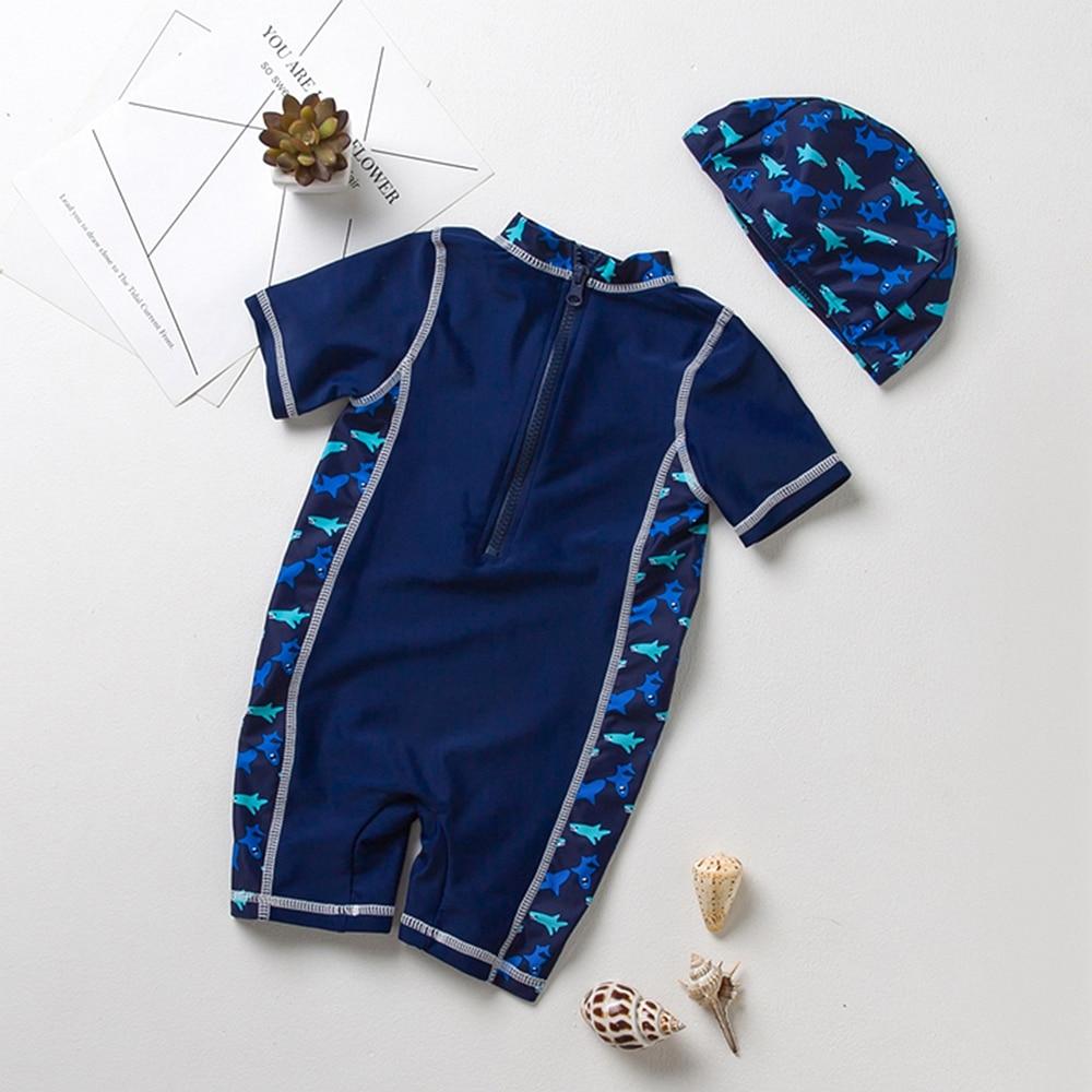 2edc5d34d357de Uv clean s 2. Beste Kopen Chumhey 0 5 t Merk Baby jongens badmode UV 50 +  zon bescherming een stuk baby badpak beachwear badpak duiken surfen  Goedkoop.
