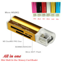 Memory-Card-Reader Micro-Sd/tf SDHC MMC Multi USB for M2 MS Hot-Worldwide All-In-One